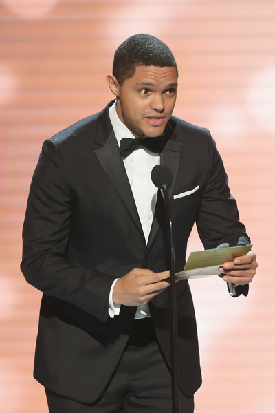 Presenter Trevor Noah onstage at the 48th NAACP Image Awards at Pasadena Civic Auditorium on February 11, 2017 in Pasadena, California.