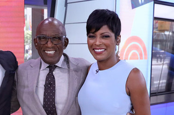 Image result for al roker and tamra hall