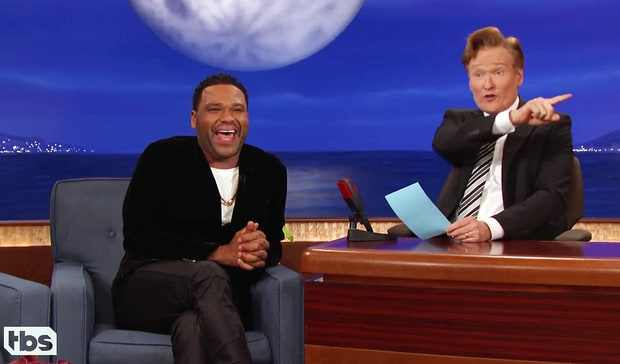 anthony anderson & conan o'brien