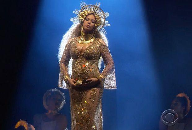 beyonce - 2017 grammy performance