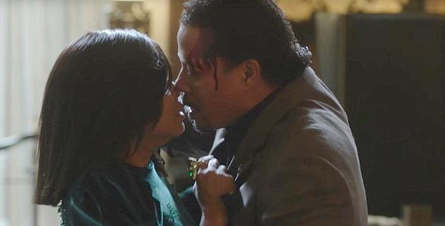 cookie & lucious kiss after fight
