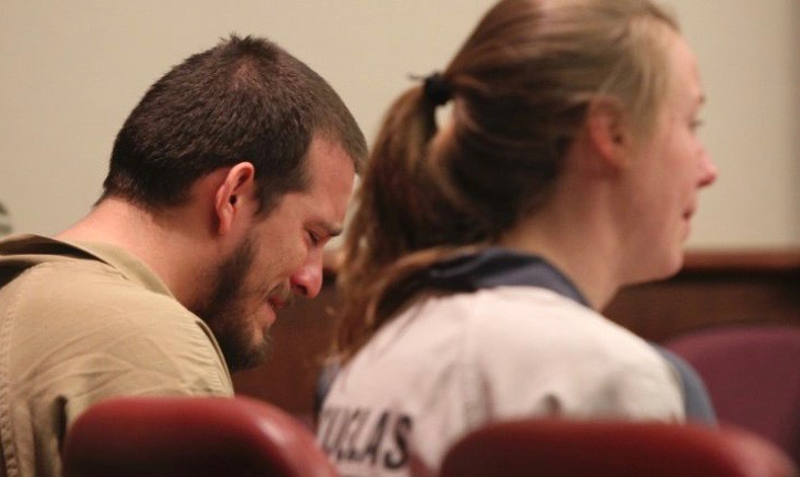 Jose Torres and Kayla Norton cry as they are sentenced - Feb 27, 2017