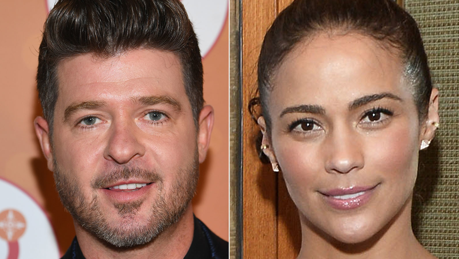 Robin Thicke and Paula Patton Square Off in Public Custody Fracas