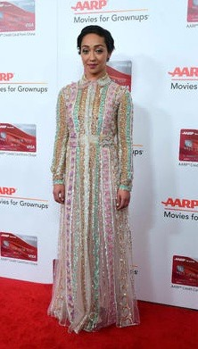 Ruth Negga at the AARP Movies for Grownups Awards in Beverly Hills (Feb 7, 2017)