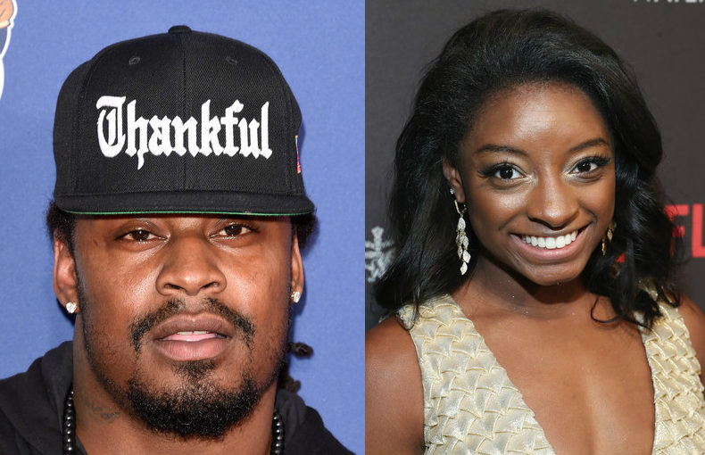 marshawn lynch, simone biles