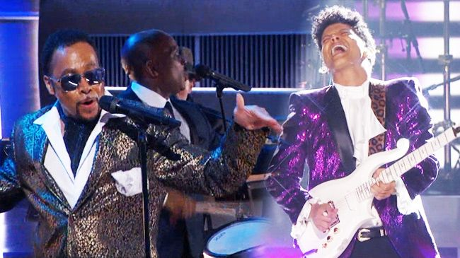 morris day & the time -bruno mars
