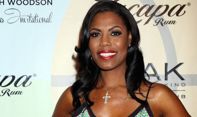Omarosa Shows Off \'Say Yes To The Dress\' Wedding Gown - Frederick ...
