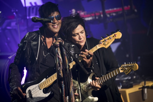 Brownmark and Wendy Melvoin