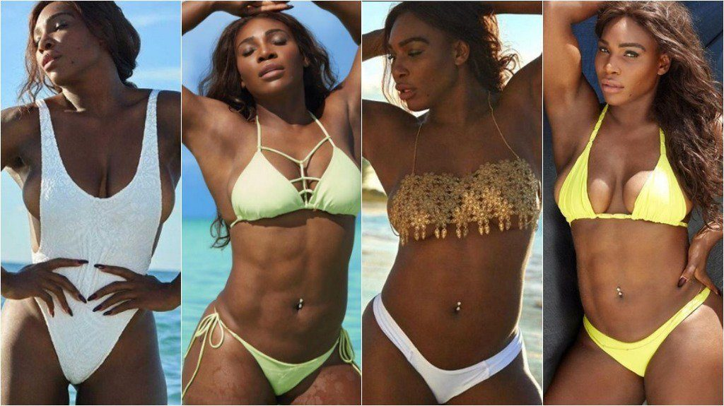 Serena Williams Wears A Thong Bikini For The First Time Ever