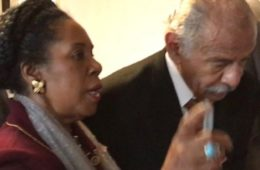 Reps Sheila Jackson Lee and John Conyers (Feb 8, 2017) - Twitter