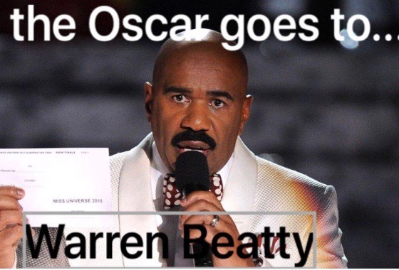 steve harvey memes steve harvey sends support to warren beatty 'call me' eurweb,Steve Harvey Meme Oscars