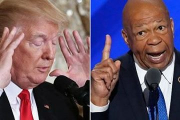 trump - elijahcummings