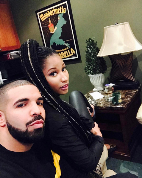 Drake and Nicki Minaj (Instagram)