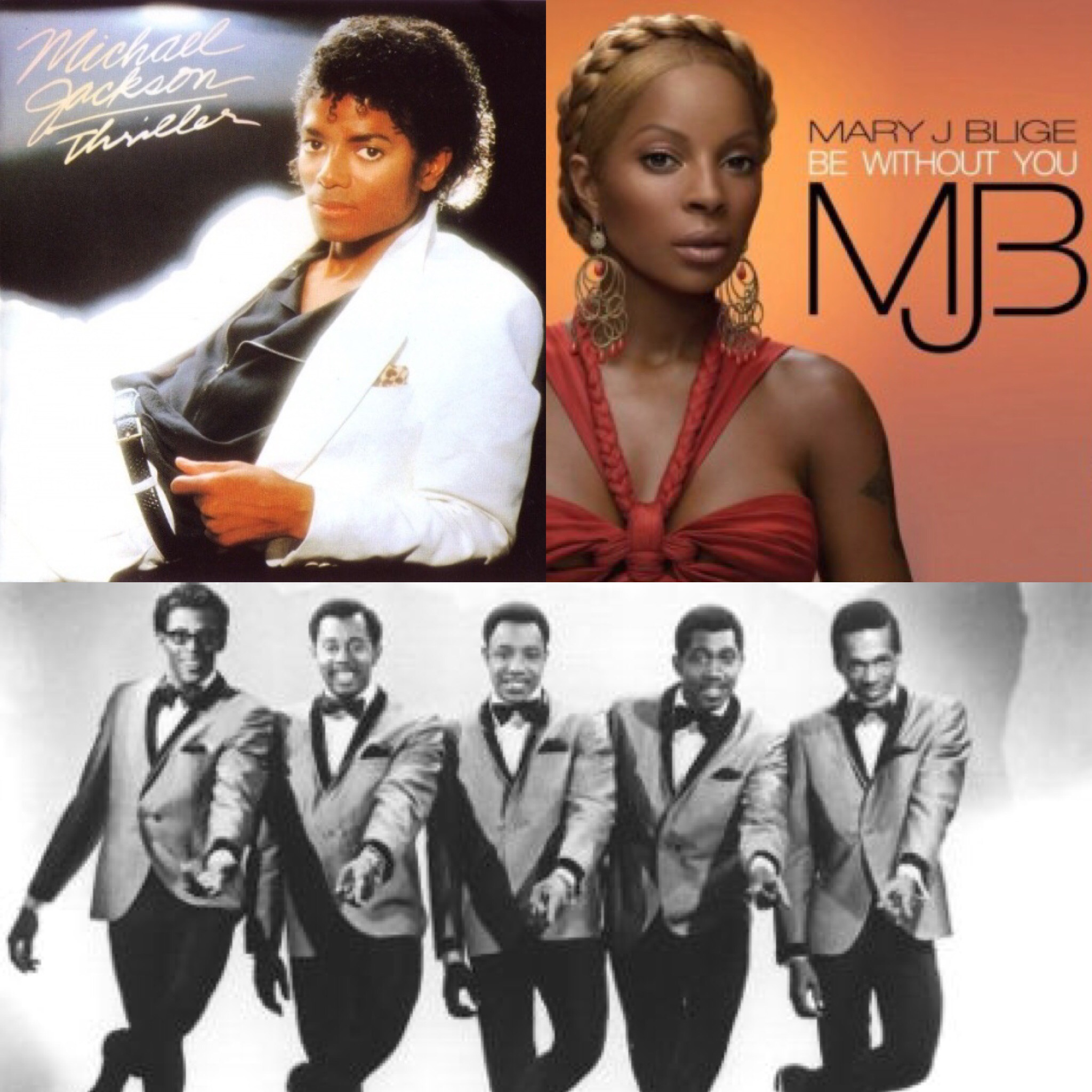 Michael Jackson, Mary J  Blige, Temptations Top 1st Ever All-Time