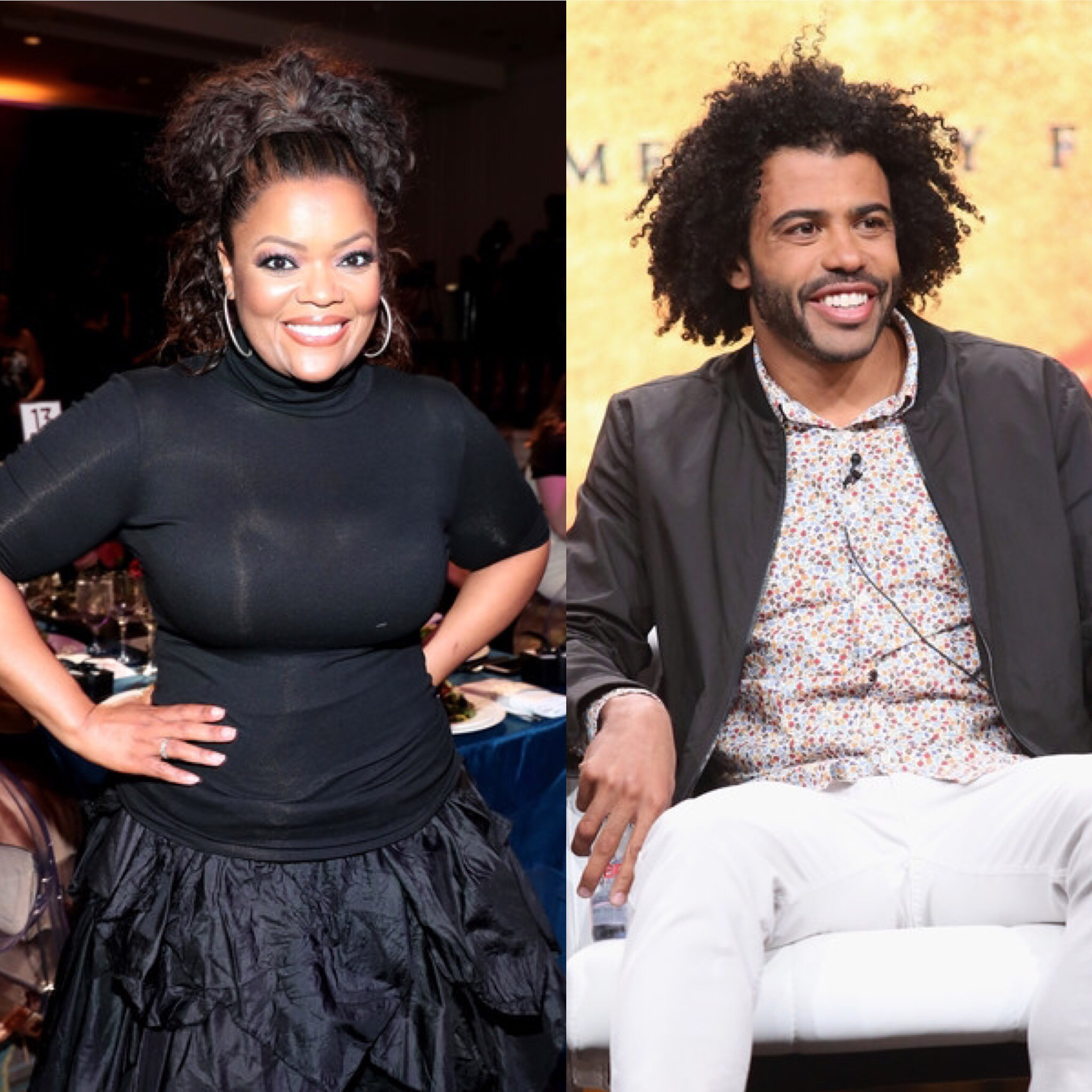 Yvette Nicole Brown and Daveed Diggs