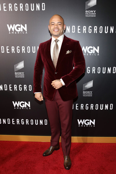"""Director/Executive producer Anthony Hemingway attends WGN America's """"Underground"""" Season Two Premiere Screening at Regency Village Theatre on March 1, 2017 in Westwood, California."""