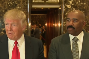Donald Trump, Steve Harvey, Coon, Uncle Tom, Racism