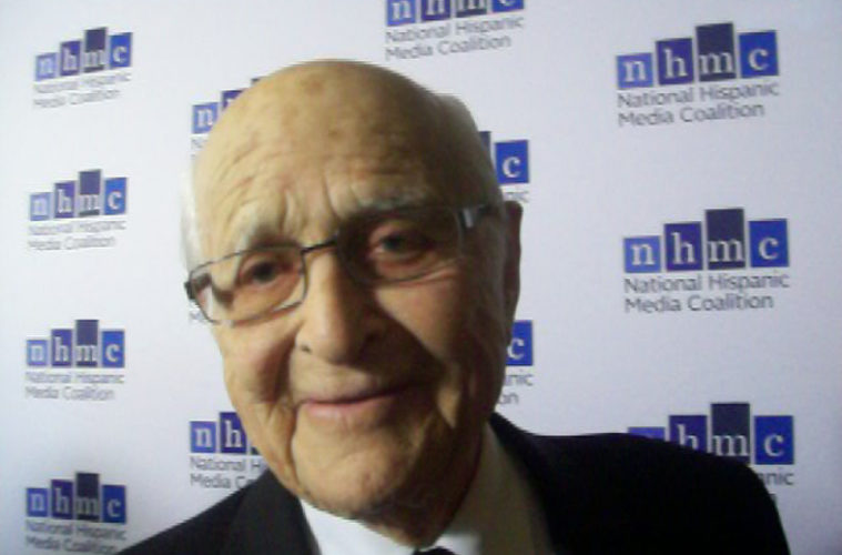 """Norman Lear, executive producer of """"One Day at a Time."""" (Photo credit: The Pulse of Entertainment)"""