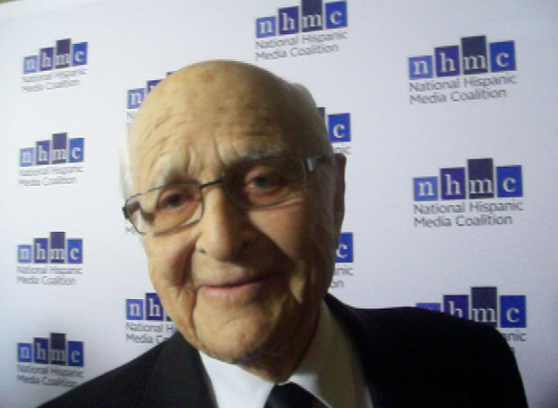 "Norman Lear, executive producer of ""One Day at a Time."" (Photo credit: The Pulse of Entertainment)"