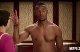 "Marlon Wayans in the Netflix comedy ""Naked"""