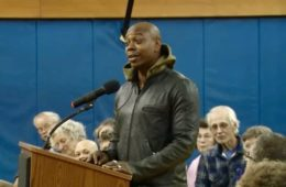 Dave Chappelle addresses his city council in Yellow Springs, Ohio (Mar 6, 2017)