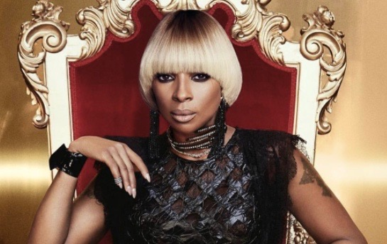 """Mary J. Blige """"Strength of a Woman"""" album cover"""