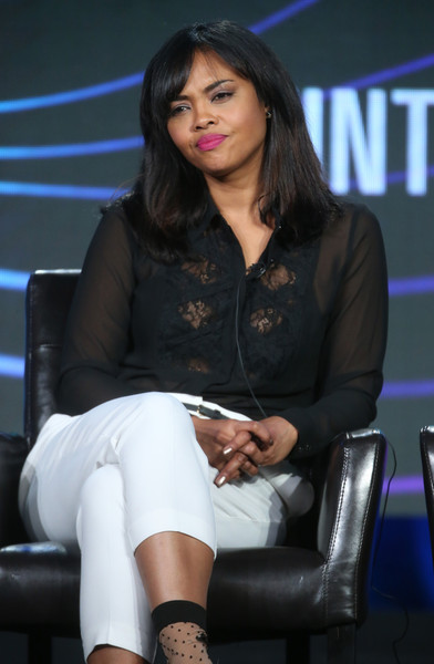 Actress Sharon Leal speaks onstage during ABC Family's RECOVERY road panel as part of the ABC Networks portion of the 2016 Television Critics Association Winter Tour at Langham Hotel on January 9, 2016 in Pasadena, California.