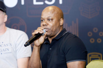 "Recording artist Too Short speaks onstage during the ""Too Short's Boombox"" panel at Entertainment Weekly's PopFest at The Reef on October 29, 2016 in Los Angeles, California."