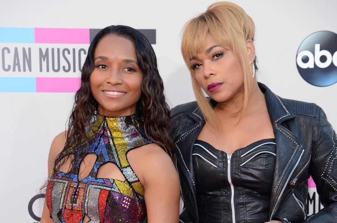 Chilli (L) and T-Boz of TLC
