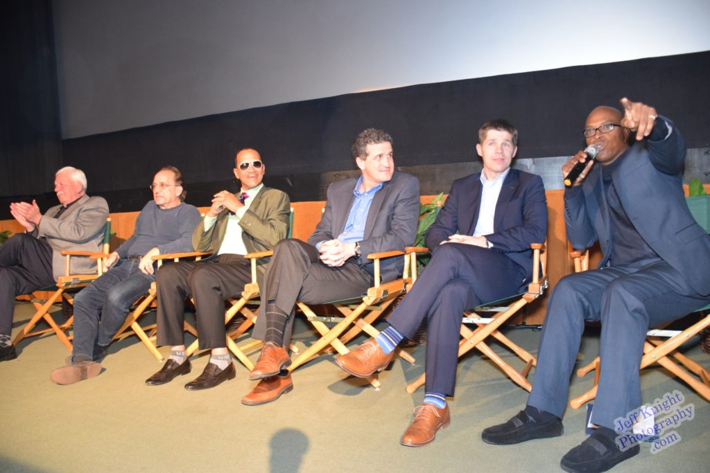 """Tom Olson, Lou Kleinman, Wendell, Jim Sheets, Taylor Scalley & Vincent Brantley discuss the making of """"Road Back"""" (Brantley's new documentary) at Raleigh Studios Hollywood (Feb 2017)"""