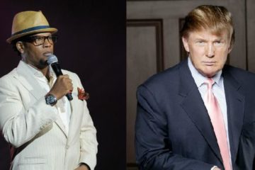dl hughley & donald trump1