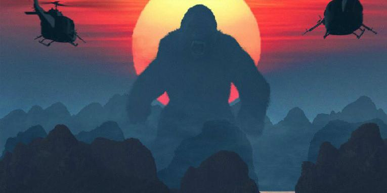 King Kong (and Sam Jackson) Out Blood in 'Kong: Skull Island'