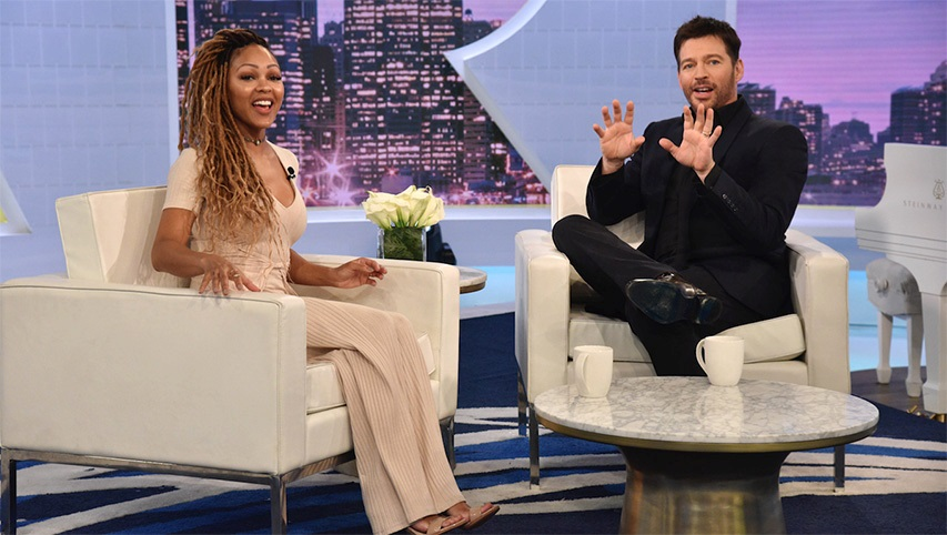 Actress Meagan Good on the 'Harry' Show on Fox.