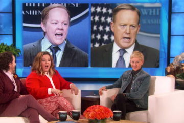 "Ben Falcone and Melissa McCarthy on ""Ellen"""
