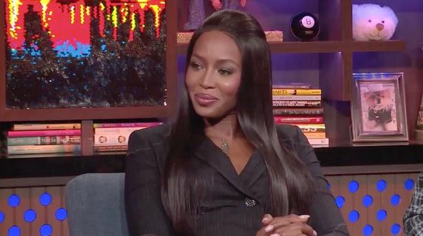 naomi campbell - wwhl