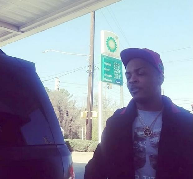 t.i. at gas station