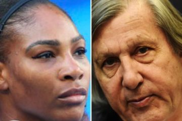 Serena Williams, Ilie Nastase (Getty)