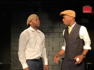 Michael A. Jones as Josh Gibson and Daniel Danielson as Satchel Paige