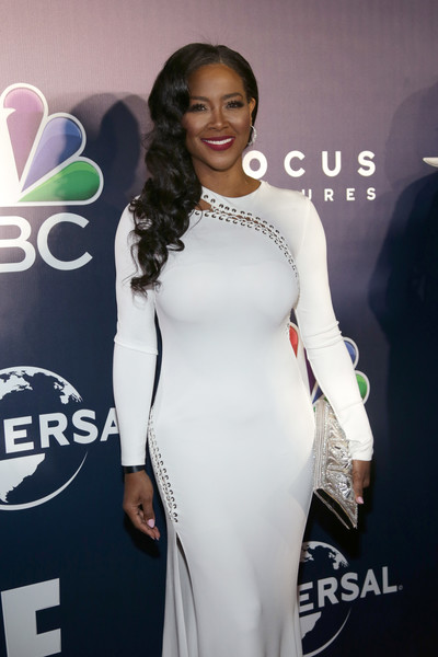 Kenya Moore attends the Universal, NBC, Focus Features, E! Entertainment Golden Globes after party sponsored by Chrysler on January 8, 2017 in Beverly Hills, California.