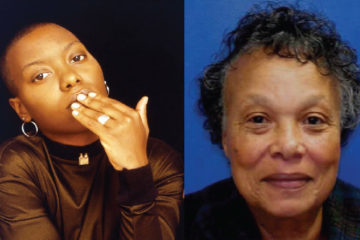 Meshell Ndegeocello & her mother (helen johnson)