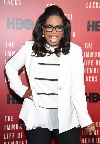 "Oprah Winfrey attends ""The Immortal Life of Henrietta Lacks"" premiere at SVA Theater on April 18, 2017 in New York City."