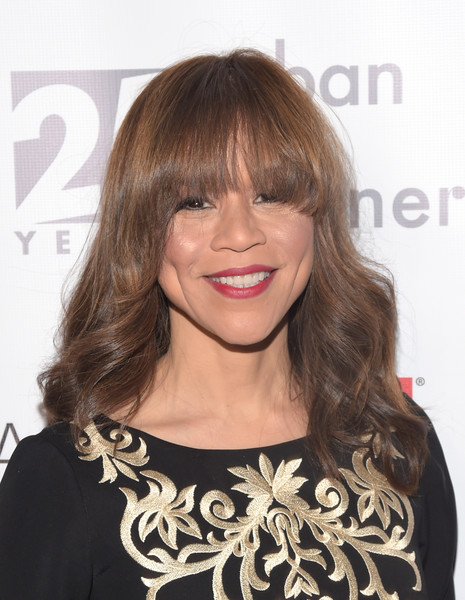 Actress Rosie Perez attends the celebration of Urban Arts Partnership 25th Anniversary Benefit at Cipriani Wall Street on March 15, 2017 in New York City.