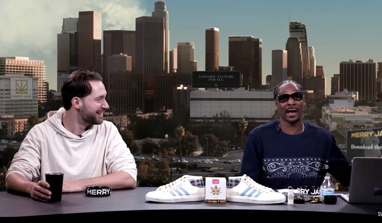 Alexis Ohanian and Snoop Dogg