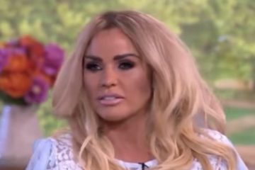 "Katie Price on UK's ""This Morning"""