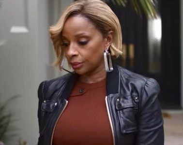 "Mary J. Blige in trailer for ""The Making Of: Strength of a Woman"""