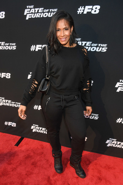 """Sheree Whitfield attends """"The Fate Of The Furious"""" Atlanta red carpet screening at SCADshow on April 4, 2017 in Atlanta, Georgia."""