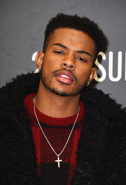 """Actor Trevor Jackson attends the """"Burning Sands"""" Premiere at Eccles Center Theatre on January 24, 2017 in Park City, Utah."""