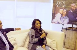 Pastor John Gray and his wife Aventer Gray talking about 'The Book of John Gray'