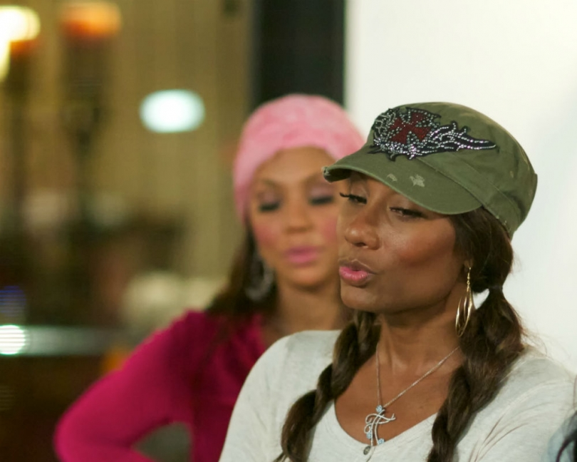 Tamar (L) and Towanda Braxton