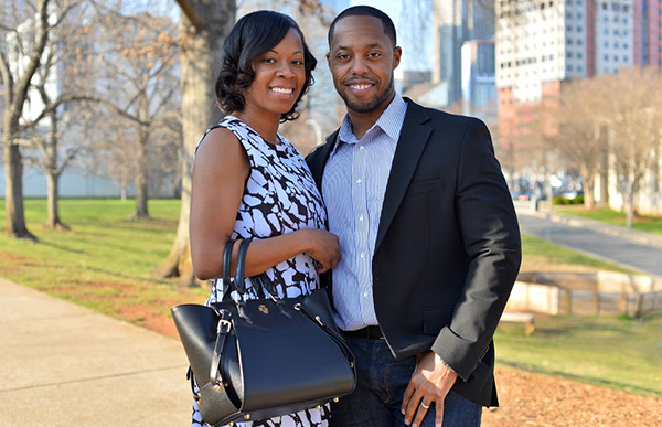 "Gregory and Terri ""Sylvia"" Pope, founders of Gregory Sylvia handbags"